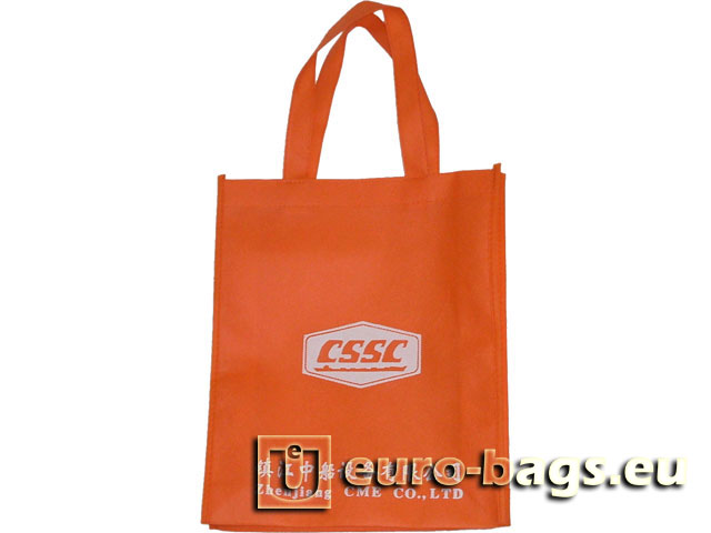 Cssc Orange Non Woven Fabric Portfolio Carrier