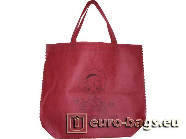 Eco Shopping Ultrasonic Welded Non Woven Fabric Bag