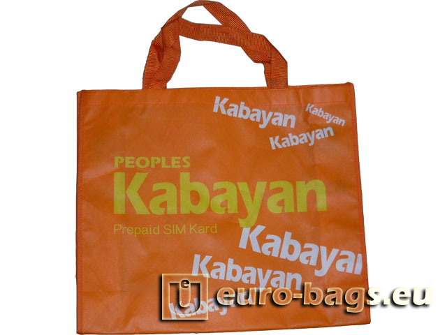 Kabayan Laminated Non Woven Fabric Carrier Bag