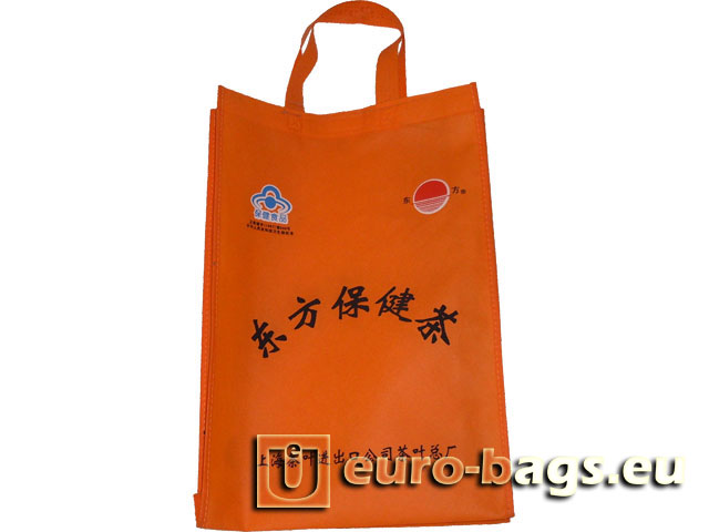 Oriental Tea Non Woven Fabric Carrier Bag