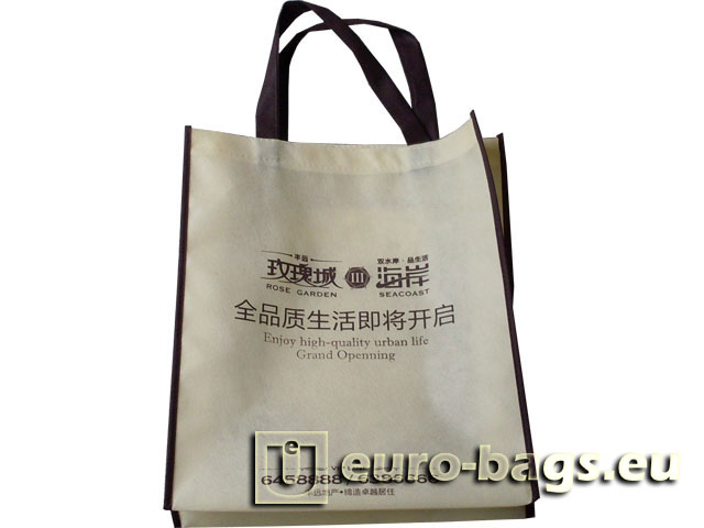 Rose Garden Non Woven Fabric Promotional Bag