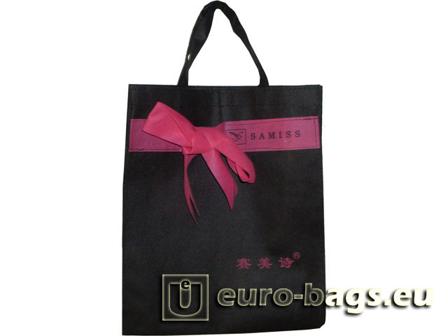 Samiss Ribbon Non Woven Fabric Carrier Bag