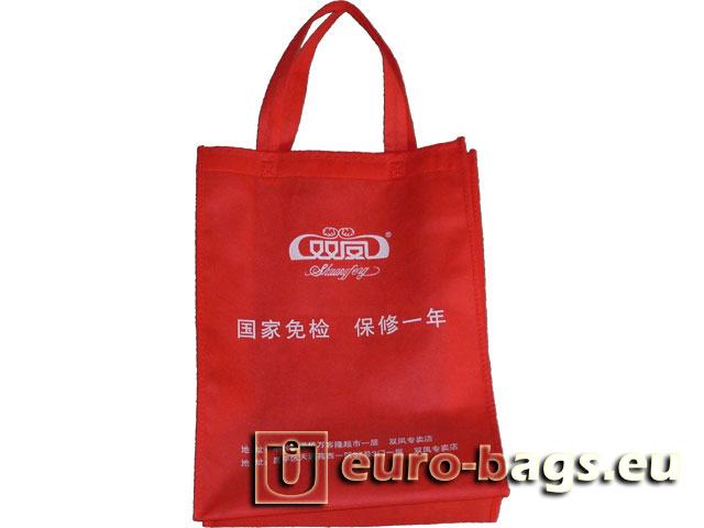 Twin Phoenix Non Woven Fabric Carrier Bag