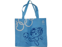 Beijing Olympic Blue Non Woven Fabric Promotional Bag