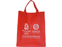 China Mobile Red Non Woven Fabric Carrier Bag