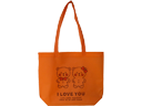 I Love You Ultrasonic Welded Non Woven Fabric Shopping Bag