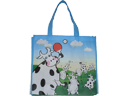 Mengniu Milk Non Woven Fabric Carrier Bag