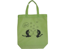 Monkey Twins Ultrasonic Welded Non Woven Fabric Shopping Bag