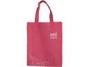 Uni Mart Pink Non Woven Fabric Shopping Bag
